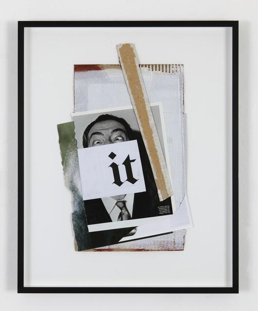 , 'It, (Dali),' 2013, Eleni Koroneou