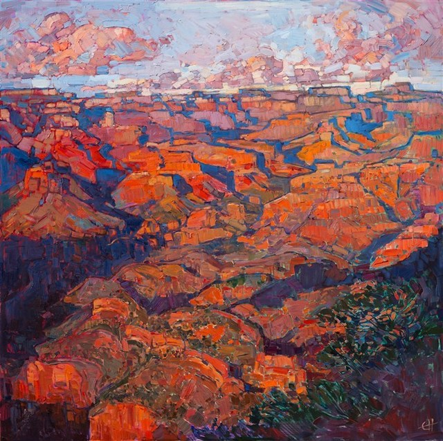 , 'Grand Canyon in Orange,' 2016, The Erin Hanson Gallery