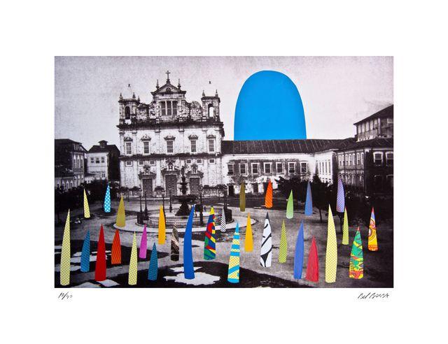 , 'Basilica Blue,' 2014, Fils Fine Arts
