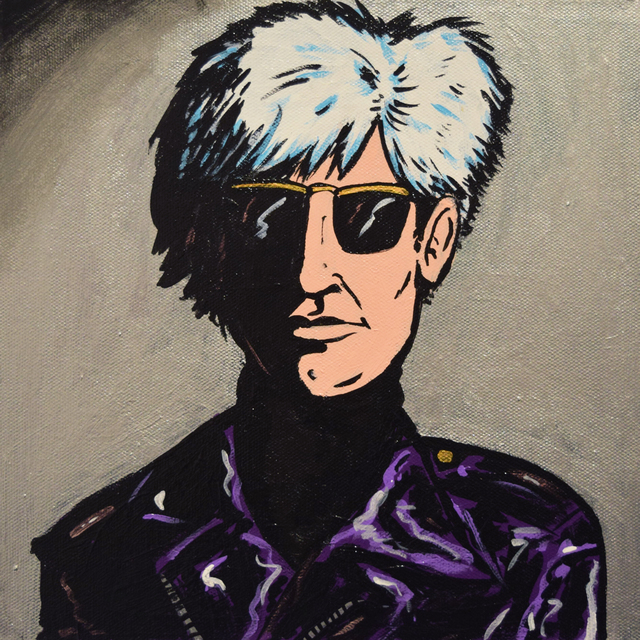 Marina Marchand, 'Andy Warhol', 2018, Fountain House Gallery