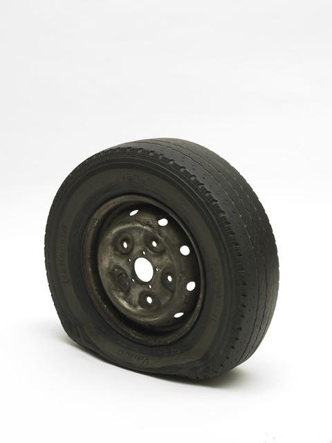 Gavin Turk, 'Flat Tyre', 2013, Mimmo Scognamiglio / Placido