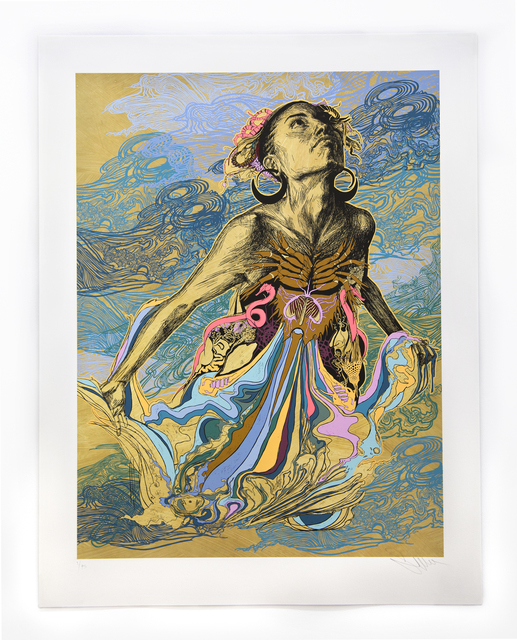 Swoon, 'Thalassa', 2017, Woodward Gallery