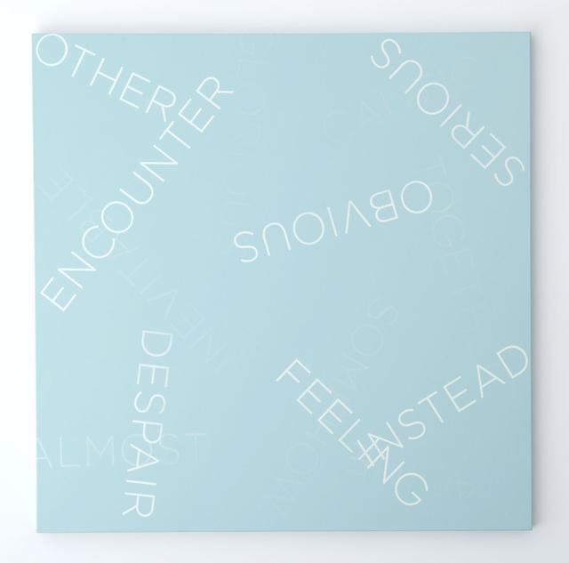 Robert Barry, 'Untitled', 2013, Galerie Greta Meert