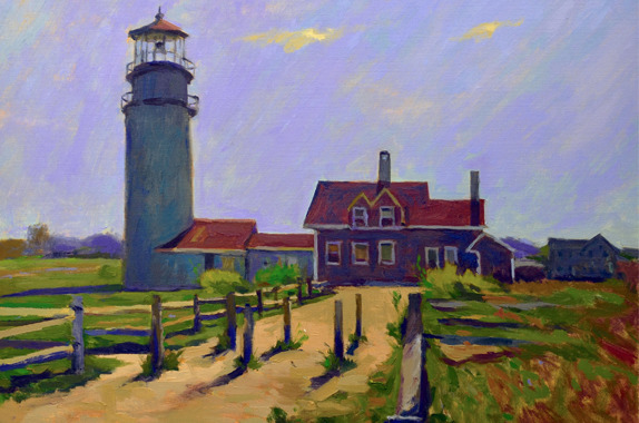 , 'Later Afternoon Highland Light,' , Addison Art Gallery