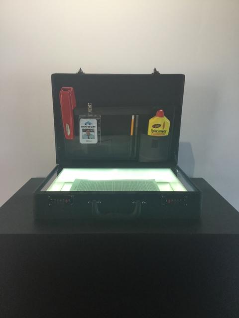 , 'ZMK, Milton's Briefcase,' 2019, Oliver Cole Gallery