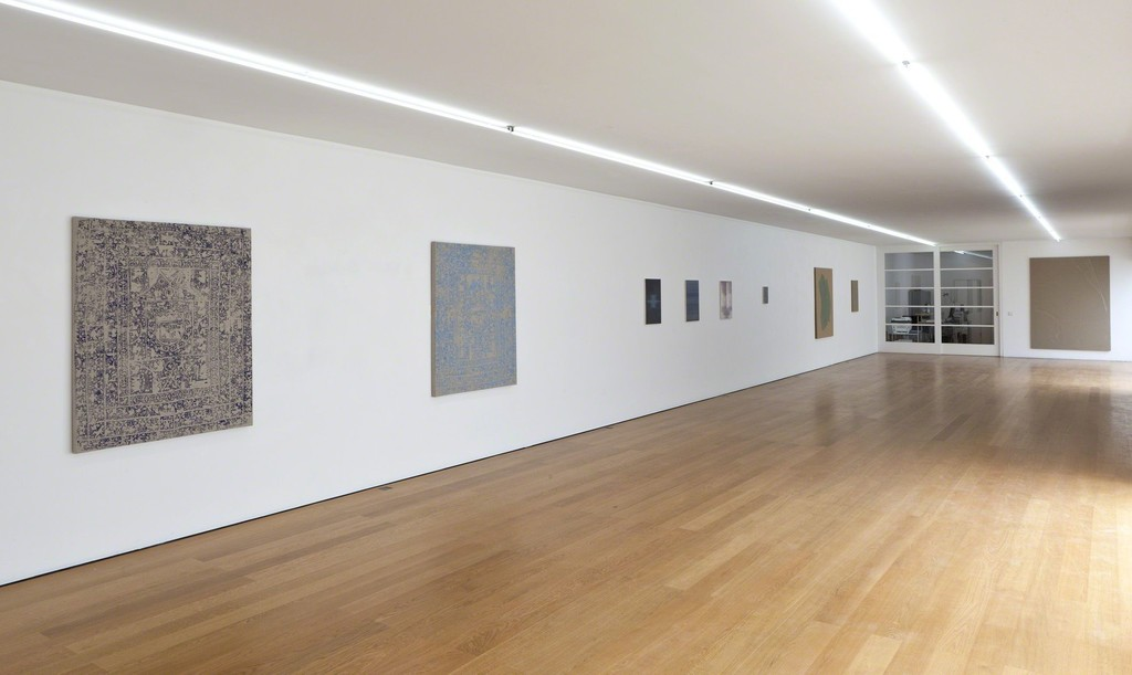 Installation view at Galerie Rüdiger Schöttle, 2015.