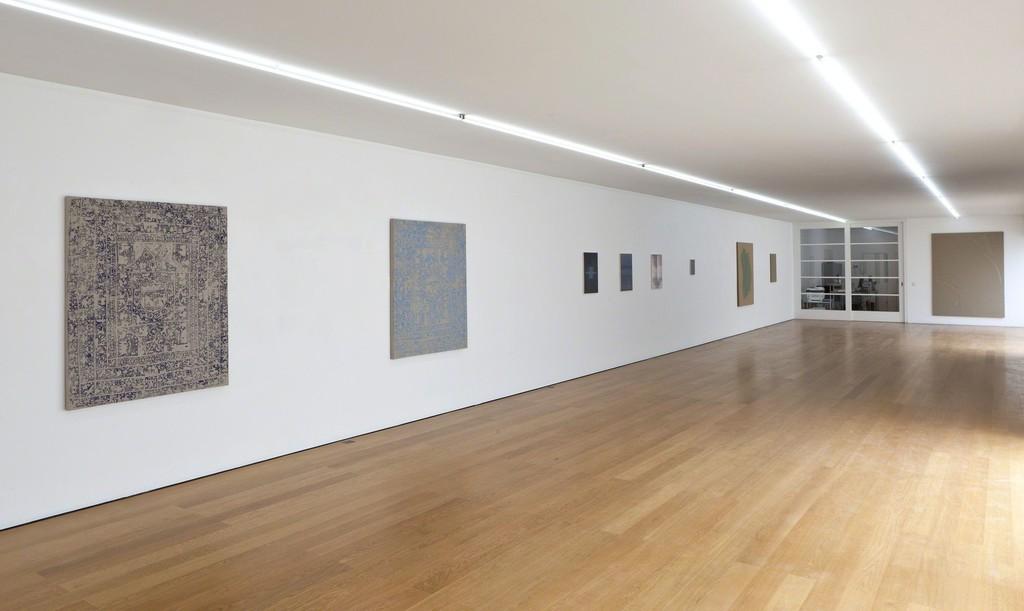 Installation view at Galerie Rüdiger Schöttle, 2015. Photo: Wilfried Petzi.