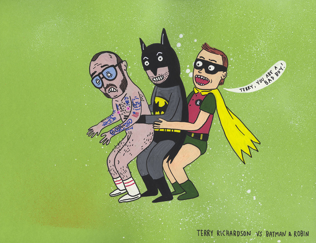 , 'Teary Richardson vs Batman & Robin ,' 2017, MARTINA