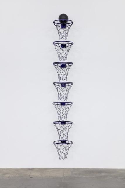 , 'Oh, What a Feeling, Fuck it, I Want a Billion (Purple),' 2018, Ben Brown Fine Arts