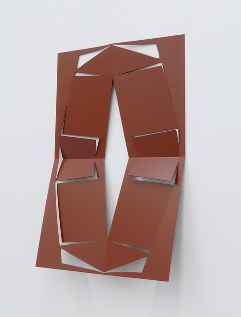 , 'C.Ar.D. Cutout (Red Brown),' 2016, Altman Siegel