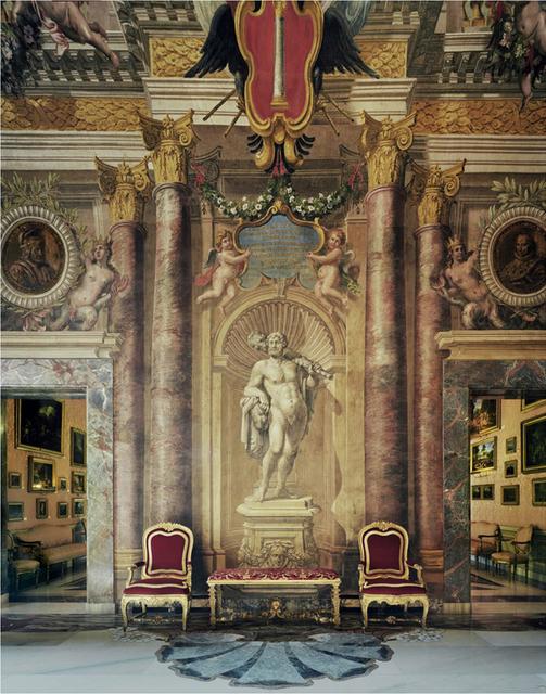 Michael Eastman, 'Red Chairs, Rome', 2010, Photography, Chromogenic print, Edwynn Houk Gallery
