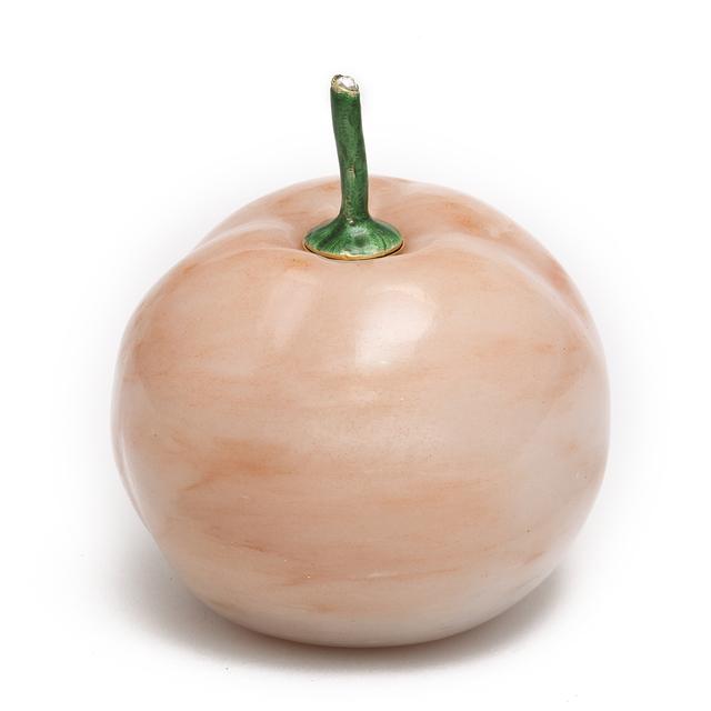 Peter Carl Fabergé, 'Fabergé Apple-form Gum Pot', 1899-1901, A La Vieille Russie