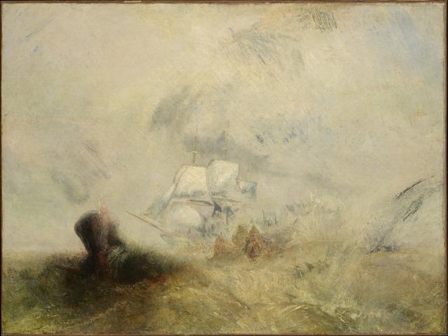 J. M. W. Turner, 'Whalers', ca. 1845, The Metropolitan Museum of Art