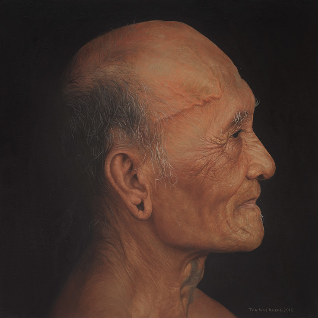 , 'Portrait of Iban Man,' 2016, Richard Koh Fine Art