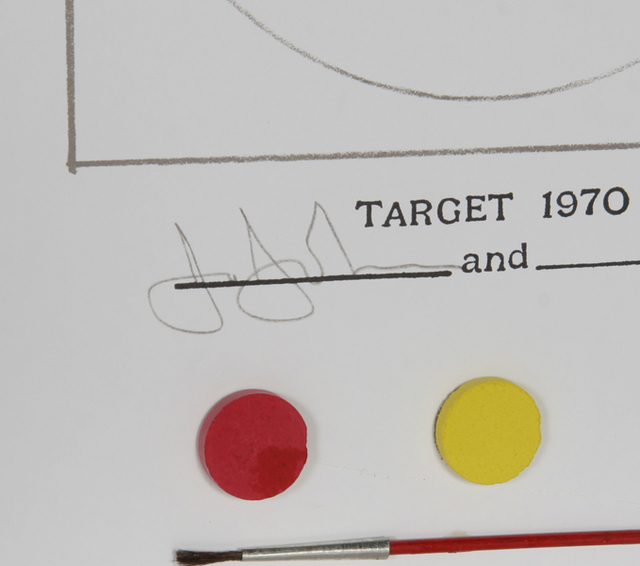 Jasper Johns, 'Target 1970', 1970, Books and Portfolios, Print with Book in White Case, RoGallery