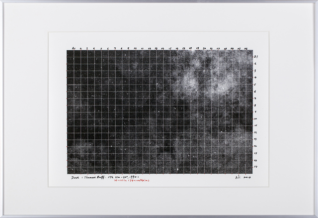 , 'Dust  Sketch (Thomas Ruff:18h 42m-75°),' 2015, Tang Contemporary Art