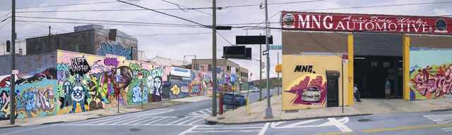 , 'MNG Automotive, Bronx,' 2013, Lyons Wier Gallery