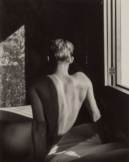 George Platt Lynes, '[Carlos McClendon, back to window]', 1947, Doyle