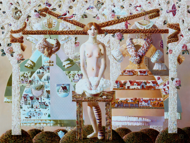 , 'Four Seasons,' 2014, REDSEA Gallery