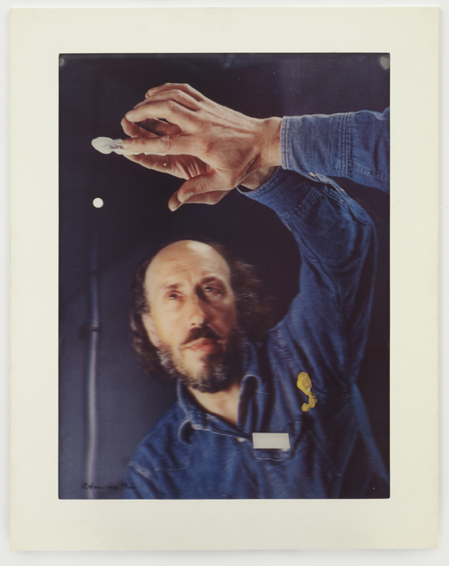 Richard Hamilton, 'Palindrome', 1974, Print, Lenticular acrylic laminated on collotype printed in 5 colours  on Chromolux paper, Cristea Roberts Gallery