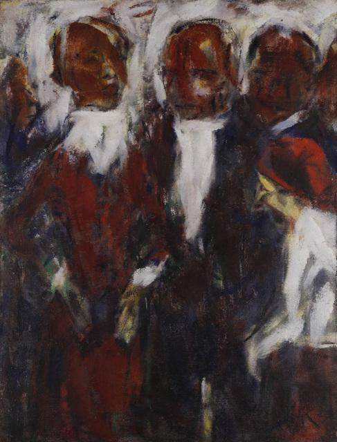 , 'Sängerin I (Vier Menschen),' ca. 1921, Henze & Ketterer