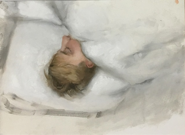 Marcus Marriott, 'Iain, Sleeping', 2017, Robert Kananaj Gallery