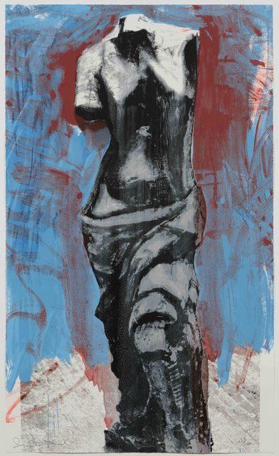 Jim Dine, 'Red, White and Blue Venus', 1984, Leslie Sacks Gallery