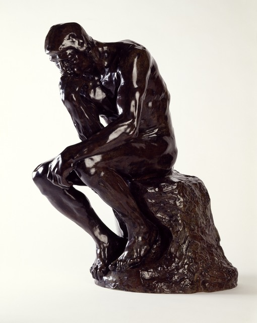 , 'The Thinker,' , Museo Soumaya