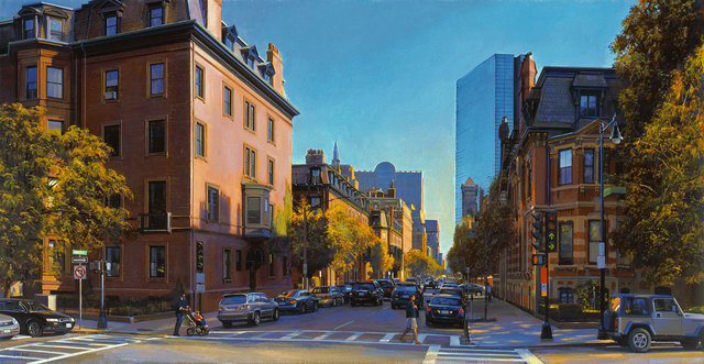 , 'Beacon and Clarendon, Afternoon Light,' 2008, Vose Galleries