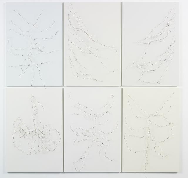 , 'En-cantos (Series of 6 frames),' 2016, Galeria Eduardo Fernandes