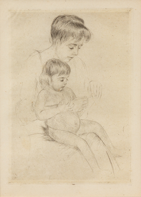 Mary Cassatt, 'The Manicure (printed after 1926)', Hindman