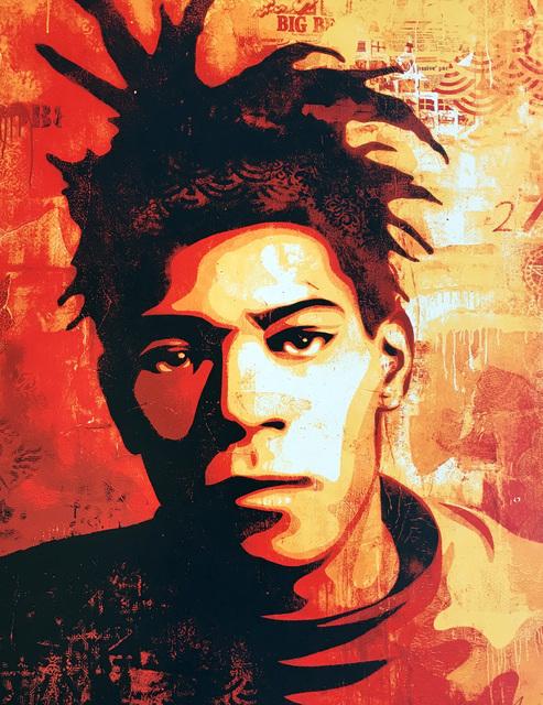 Shepard Fairey (OBEY), 'Basquiat', 2010, Lot 180