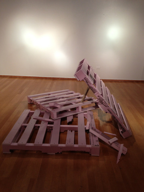 , 'Untitled (Pallets),' 2013, Trailer Park Proyects