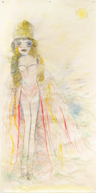 , 'Curlique Venus ,' 2019, Projet Pangée