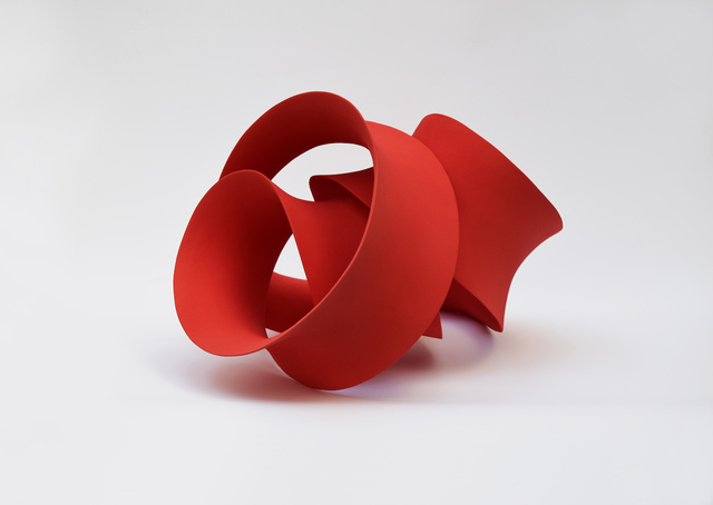 ", '""Red Loop"",' 2016, J. Lohmann Gallery"
