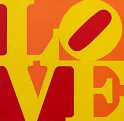 Robert Indiana, 'LOVE (Red Yellow Orange)', 1996, Puccio Fine Art