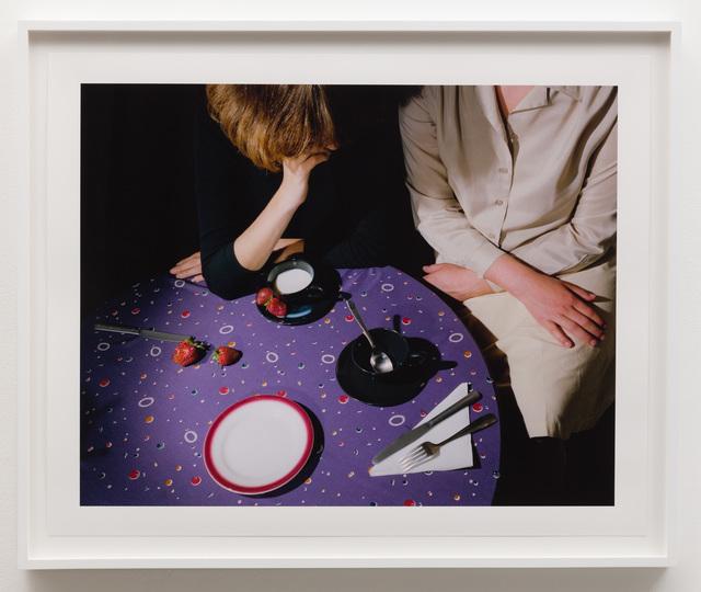 Jo Ann Callis, 'Purple Tablecloth', 1979, Anat Ebgi