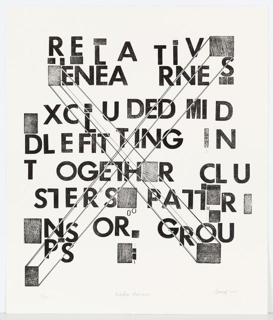 , 'Relative Nearness,' 2016, David Krut Projects