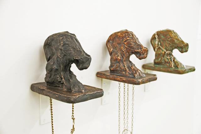 , 'Kettenhund,' 2015, Galerie Strelow
