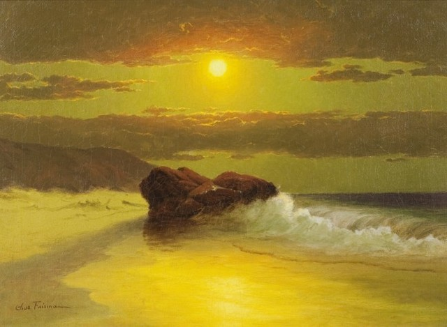 , 'Twilight on the Shore,' , Questroyal Fine Art
