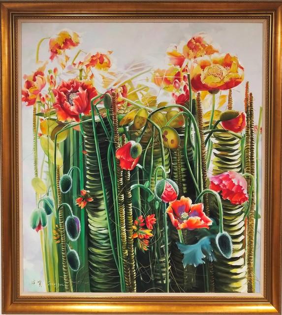 , 'Corn poppy,' 2016, A-Art Shengzan Gallery
