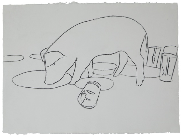 Andy Warhol, 'Fiesta Pig, Executed', ca. 1979, Drawing, Collage or other Work on Paper, Graphite on paper, Christie's Warhol Sale