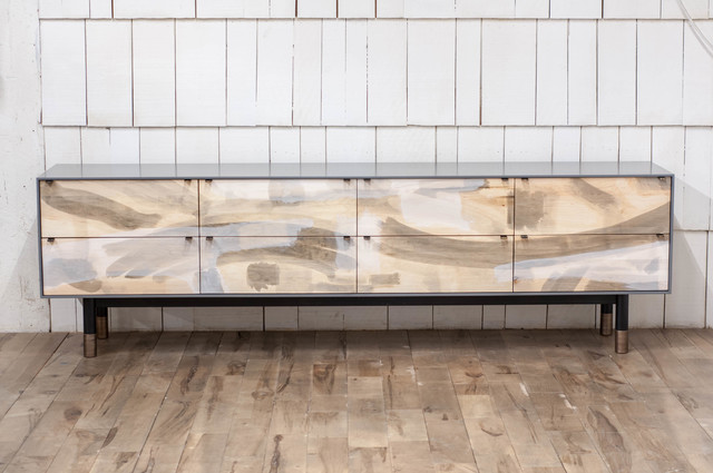 Jeff Martin, 'Painted Maple Credenza', 2017, Alpenglow Projects Unlimited