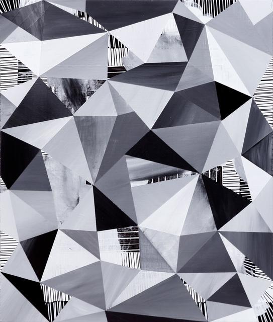 , 'Scrambler (Monochrome),' 2015, Newzones