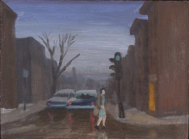 , 'Rue de Montreal,' , Canadian Fine Arts