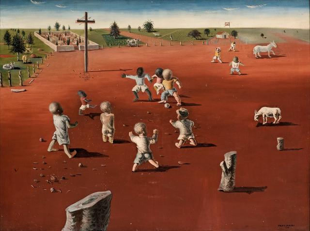 , 'Futebol,' 1935, MALBA