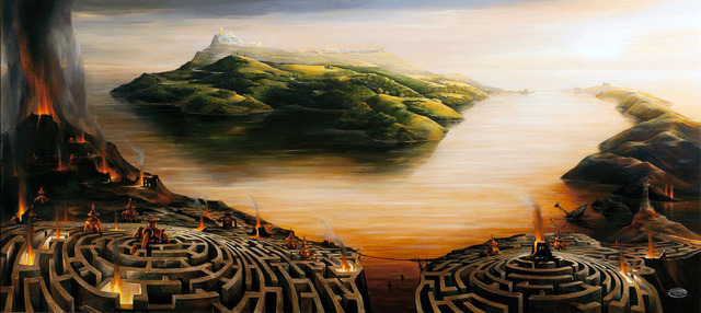 , 'Road to the City of Gold,' 2014, nobig.art