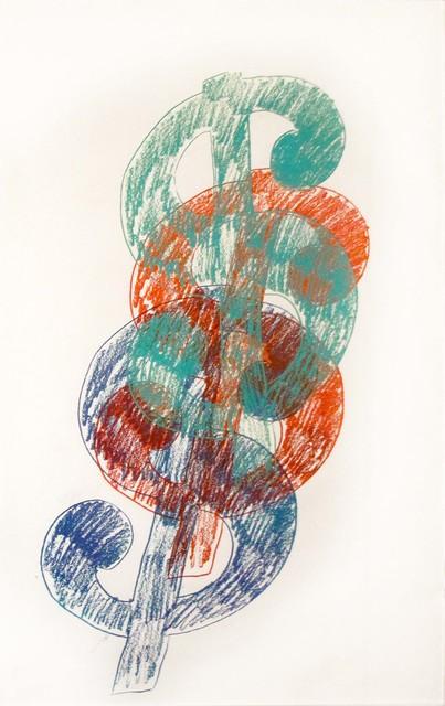 , 'Multiple Dollar Sign,' ca. 1982, Hamilton-Selway Fine Art