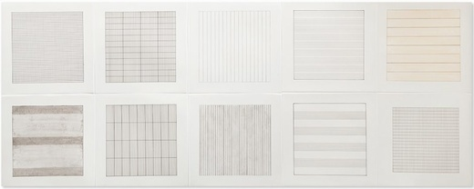 Agnes Martin, 'Untitled (from Paintings and Drawings: 1974-1990)', 1991, Artsnap