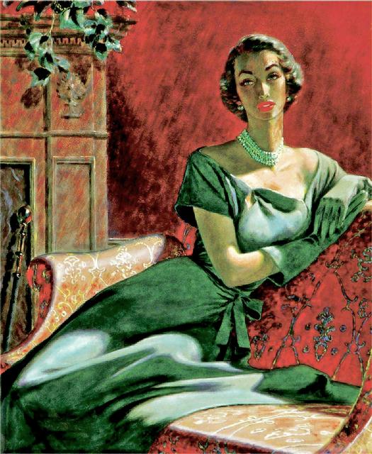 Edwin Georgi, 'Portrait of a Woman, Woman's Magazine Illustration Mid Century', ca. 1950, Robert Funk Fine Art